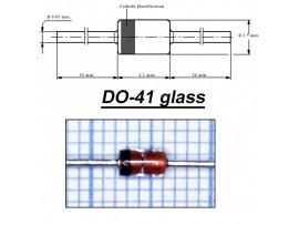 1N4744A (Стабил. 15V/1W) стекло
