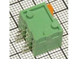 DG141R-2.54-03P-14-00A(H) клем. 3к шаг 2,54мм на плату