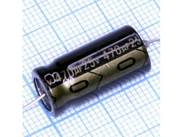 Конд.470/25V (аксиал)