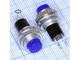 DS-314 син.125V/3A (12.05) кнопка нормально разомкнутая