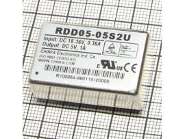 RDD05-05S2U  (18V-36VDC>5V DC/1000mA) Преобр. напр.