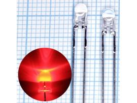 LED d=3 HLMP1340  red Agilent