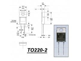 STTA512D диод быстрый (600V/5A)