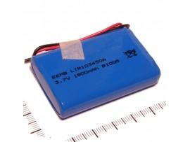 Аккумулятор 3,7V/1800 LIR103450A-PCB-LD