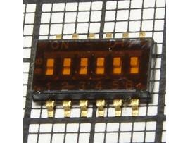 NHDS-06 переключатель SMD DIP