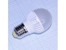 Лампа 220V 5,4W G45 E27 2700 Ecola св/д теплый белый