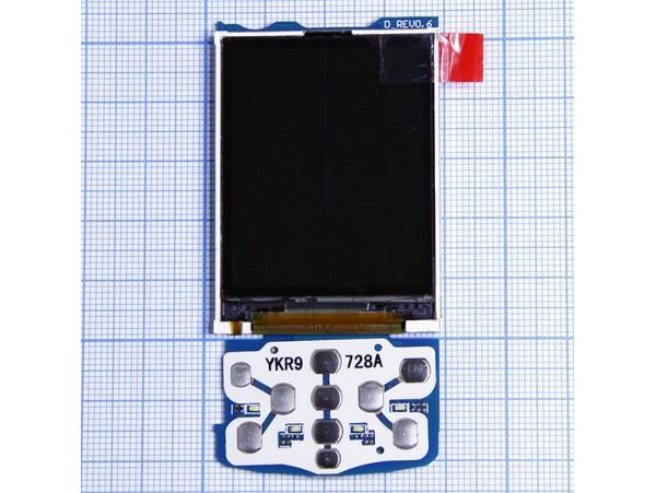 SAM E250 дисплей LCD в сборе с платой