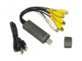 Устройство видеозахвата 4 канала /монозвук USB