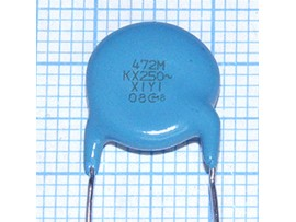 Конд.4700p/250V DE1E3KX472MN4AL01