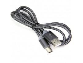 USB на Type-C 1 м, золотой,Energy кабель ET-01