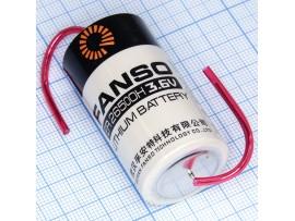 ER26500-AX батарея 3,6V Lithium С с выводами