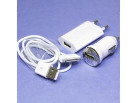 iPhone/iPod USB cable Комплект с зарядными устройствами