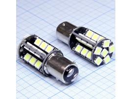 LED-L0959 BAY15d white 30 Leds 5050SMD