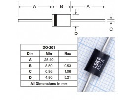 1,5KE33CA диод защитный