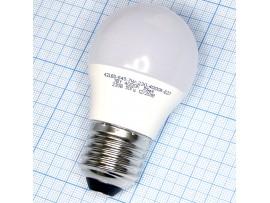 Лампа 220V 7W E27 шар G45 св/д холодный 4000k Smartbuy