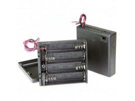 R06/4 BH-341 отсек батарей с крышкой и выключателем