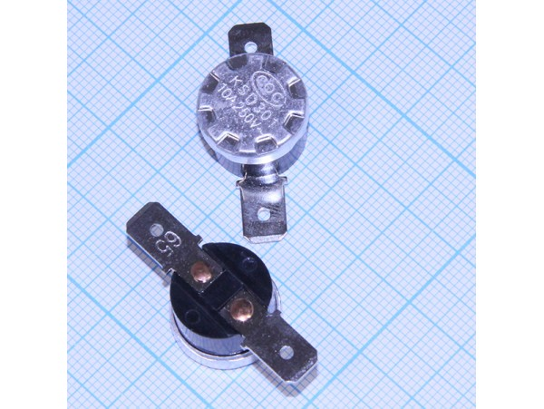 KSD-F01-65 65°C/250V/10A Термостат биметаллический