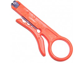 HT-318 инструмент для заделки каб.+нож 110