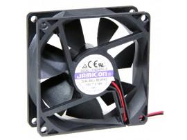 Вентилятор 12V/0,19A 80х80х25 JF0825B1H подшипник