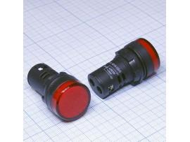 AD22DS[AD16-22D/S] LED красная лампа 12V