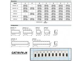 CAT16-271J4 (4х270 Ом±5%) Сборка резисторная чип.