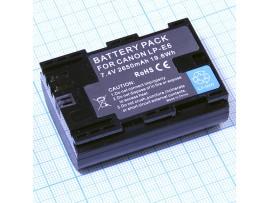 Аккумулятор CANON LP-E6 Li-ion 7,4V/2650mAh