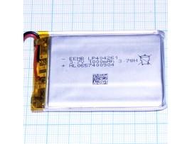 LP404261-PCB-LD Аккумулятор 3.7V 1000 mAh Li-Pol