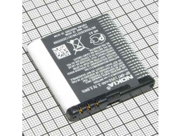 Nokia N81 Акк. 3,7V/1050mAh BP-6MT