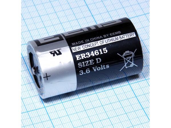 ER34615 батарея 3,6V Lithium D EEMB