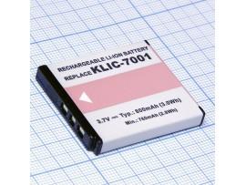 Аккумулятор KLIC7001 3,7/800mAh