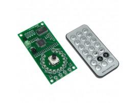 MP1232 Аудиорегулятор 4 канала с пультом ДУ