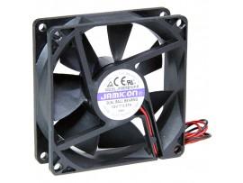Вентилятор 12V/0,37A 80х80х25 JF0825B1UR подшипник
