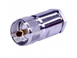 СH-7508D штекер под пайку для RG213 (d=10)
