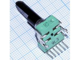 Рез. 2х20к на плату L=20 верт. RV112BCF-40-30A-B20K-0C
