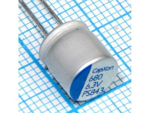 Конд.680/6,3V 0809