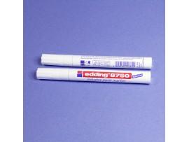 E-8750 Маркер 2-4 мм белый Edding промышленный