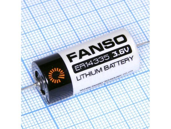 ER14335-AX батарея 3,6V Lithium с выводами