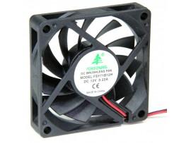 Вентилятор 12V/0,22A 70х70х15 FSY71B12H