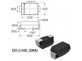 STPS160A Диод Шоттки (60V/1A)