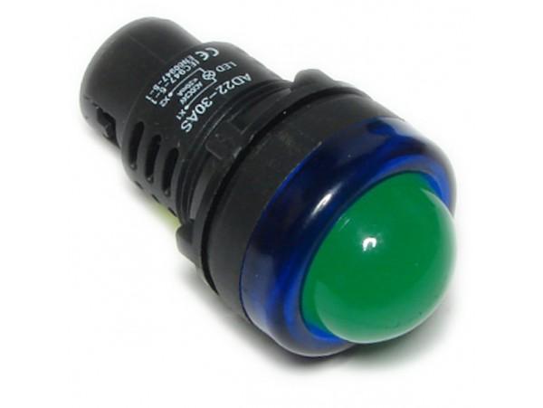 AD22-30AS-B 24V AC/DC Лампа LED зеленая