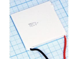 TEC1-12708 элемент Пельтье 40х40х3,5 16,7В/8,5А