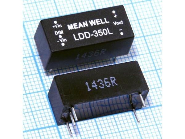 Драйвер LED 9-36V 2-32V 0,35A LDD-350L