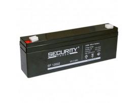 Аккумулятор 12V/2,2Ah SF12022 178х34х60 Security