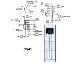 SS495A2 Датчик Холла
