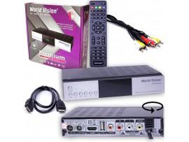 World Vision Premium ресивер кабельный DVB-C, DVB-T2