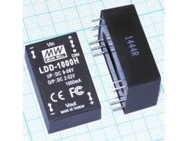 LDD-1000H 9-56VDC>2-52VDC/1,0А драйвер LED