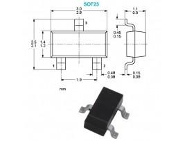 BAR43S (30V/0,2A) Диод Шоттки