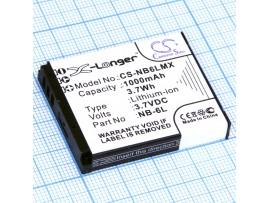 Аккумулятор CANON NB-6L 3,7V/1000 mAh CS-NB6LMX