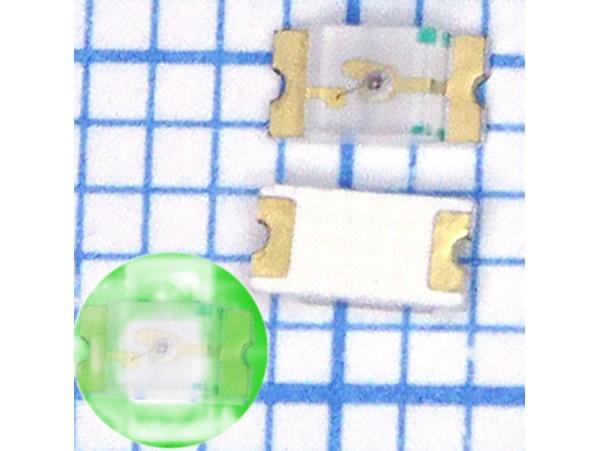 LED CHIP G L-C150KGCT PARA зелёный (1206)
