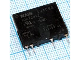AQG22212 реле твердотельное 2A 240VAC 12VDC-INPUT